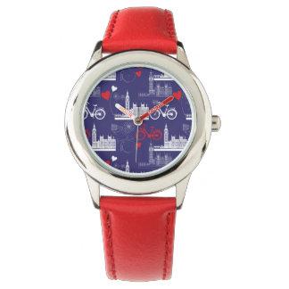 Het Patroon van de Oriëntatiepunten van Londen Horloges