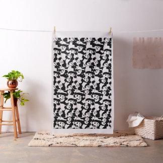 Het patroon van de panda stof