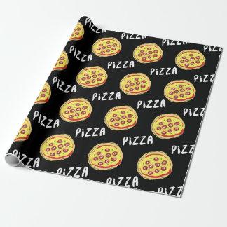 Het Patroon van de pizza Cadeaupapier