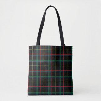 Het Patroon van de Plaid van het geruite Schotse Draagtas