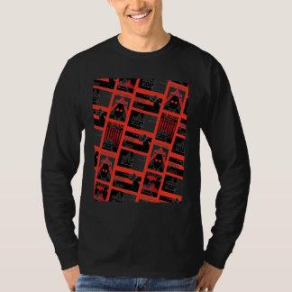 Het Patroon van de Propaganda van de Stad van T Shirt