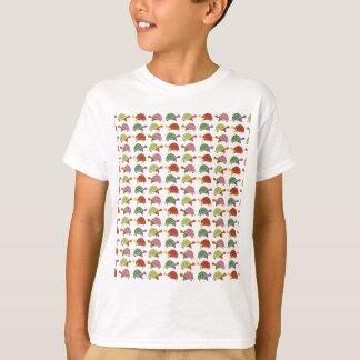Het patroon van de schildpad t shirt