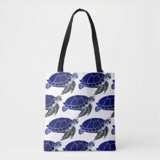 Het Patroon van de Schildpad van het zee Draagtas