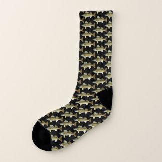Het Patroon van de Snoeken van de Snoekbaarzen van Sokken