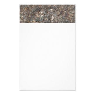 Het patroon van de steen briefpapier