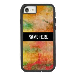 Het Patroon van de Stijl van Bokeh van Grunge Case-Mate Tough Extreme iPhone 8/7 Hoesje