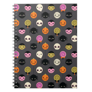Het Patroon van de Stippen van Halloween Notitieboek