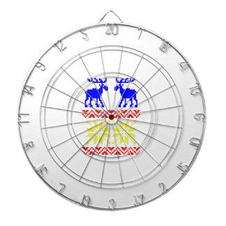 Het Patroon van de Sweater van de jacquard Dartbord