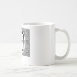 Het Patroon van de Test van TV Koffiemok