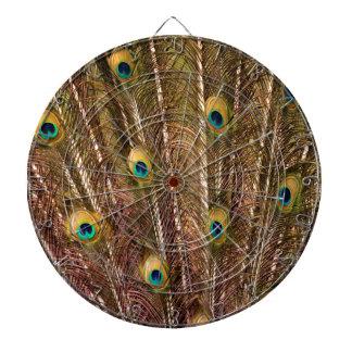 Het Patroon van de Veer van de pauw Dartbord
