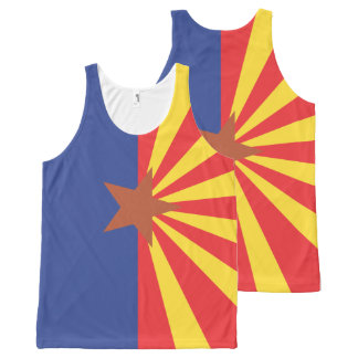 Het Patroon van de Vlag van ARIZONA - .png All-Over-Print Tank Top