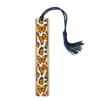 Het Patroon van de Vlinder van de monarch Boekenlegger