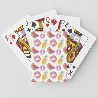 Het Patroon van de Vlotter van de Pool van de Speelkaarten