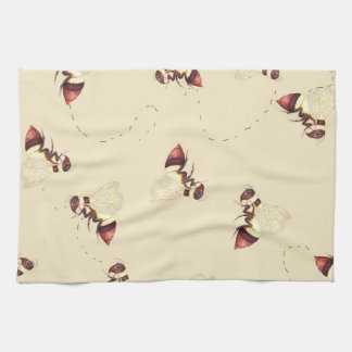 Het Patroon van de Vlucht van de hommel Handdoek