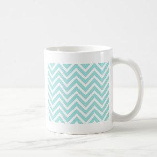 Het Patroon van de zigzag Koffiemok