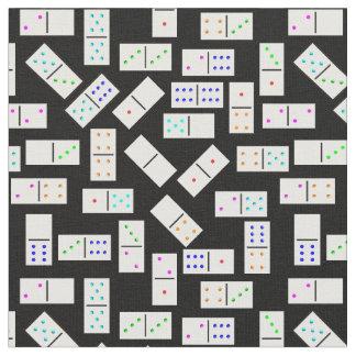 Het patroon van domino's op om het even welke stof