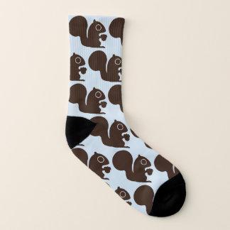 Het Patroon van eekhoorns Sokken