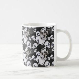 Het Patroon van Halloween van spoken Koffiemok