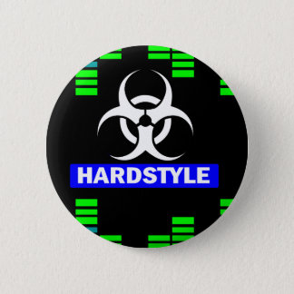 Het patroon van Hardstyle Ronde Button 5,7 Cm