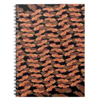 Het Patroon van het bacon Notitieboek