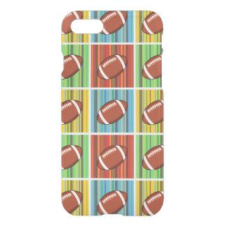 Het Patroon van het football iPhone 7 Hoesje