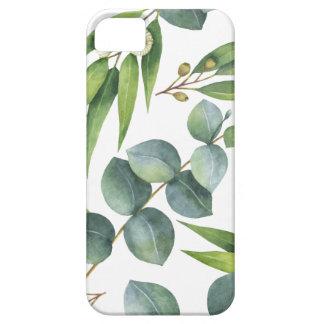 Het Patroon van het Gebladerte van de eucalyptus Barely There iPhone 5 Hoesje