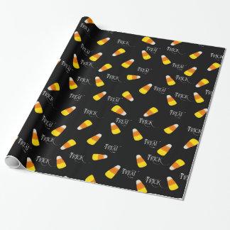 Het patroon van het het snoepgraan van het trick inpakpapier