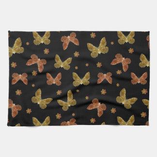 Het Patroon van het Motief van insecten Keuken Handdoeken