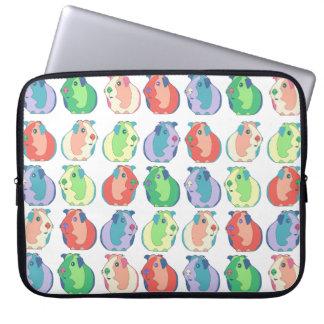 Het Patroon van het Proefkonijn van het pop-art Laptop Sleeve