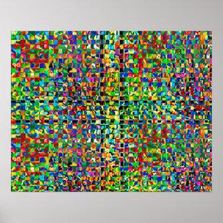 Het Patroon van het Regenwoud van Zazzling Poster