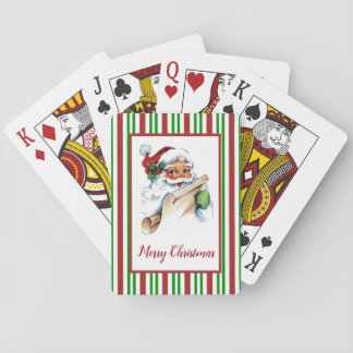 Het Patroon van het Riet van het Snoep van de Pokerkaarten