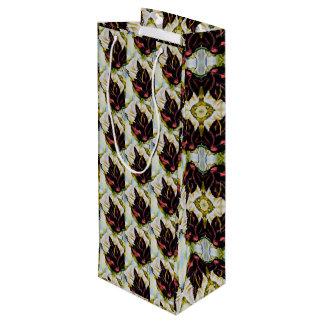 Het Patroon van het stilleven van Bladeren Georgië Wijn Cadeautas
