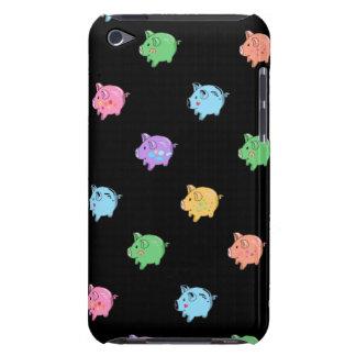 Het Patroon van het Varken van de regenboog op iPod Touch Hoesje