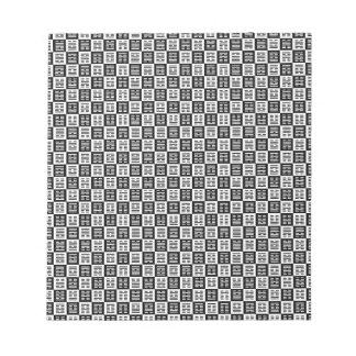 Het patroon van Hexagrams Kladblok