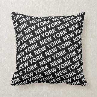 Het Patroon van New York Sierkussen