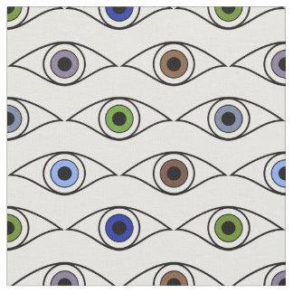 Het Patroon van ogen in Bruin, Blauw, Groen, Stof