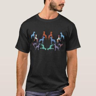 het patroon van patroonGreat dane T Shirt