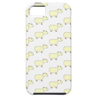 Het Patroon van schapen Tough iPhone 5 Hoesje