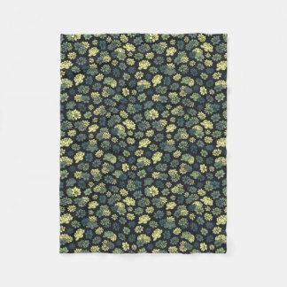 Het Patroon van Succulents Fleece Deken