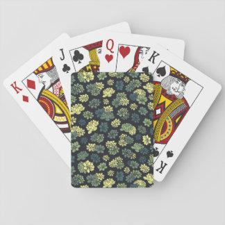 Het Patroon van Succulents Pokerkaarten