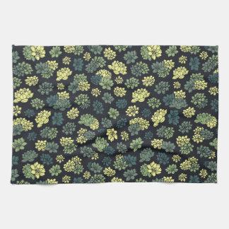 Het Patroon van Succulents Theedoek