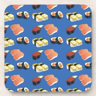 Het patroon van sushi drankjes onderzetter