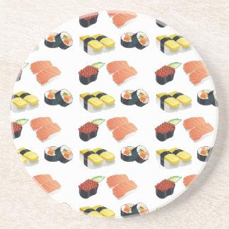Het patroon van sushi zandsteen onderzetter