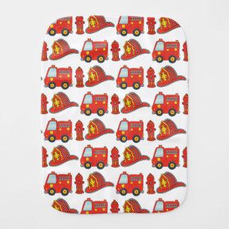 Het Patroon van Themed van de brandbestrijder Monddoekje