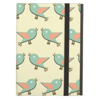 Het patroon van vogels iPad air hoesje