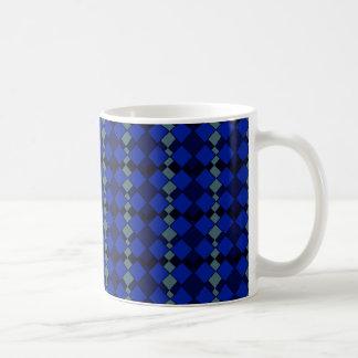 Het patroonmok van de diamant koffiemok