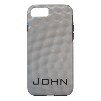 Het patroontextuur van de golfbal iPhone 7 hoesje