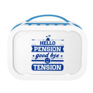 Het Pensioen van Hello spant vaarwel Lunchbox