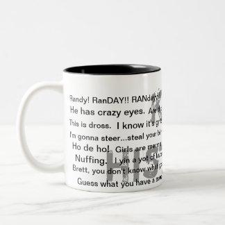 Het perfecte Cadeau Tweekleurige Koffiemok