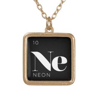 Het periodieke Neon van //van het Ketting van de